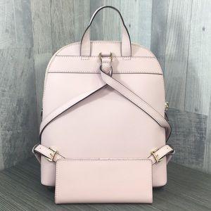 Michael Kors Bags - Emmy Blossom Lg Backpack & Md Flt Bfld Wallet
